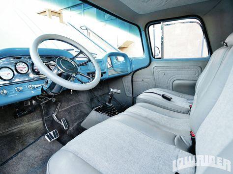 1962 Chevy C 10 Interior Chevrolet Trucks Truck Interior Chevrolet