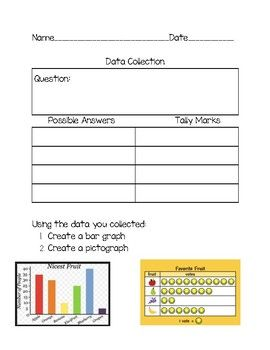 picture about Create a Printable Survey called Graphing Information Choice: Pictograms and Bar Graphs