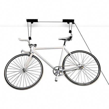 Bike Lift Ceiling Mount Bycycle Hoist Garage Storage Hanger Pulley