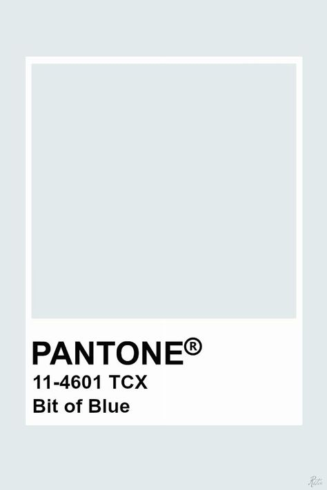 Pantone Bit of Blue