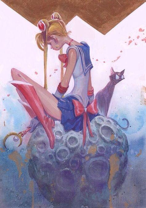 Twitter / RustamHasanov2: Heard the Q-Pop Sailor Moon ...