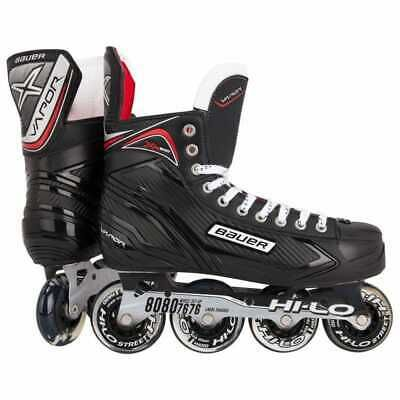 Advertisement Ebay Bauer Vapor Xr300 Inline Roller Hockey Roller Blades Size 10 In 2020 Rollerblade Hockey Roller Hockey Skates