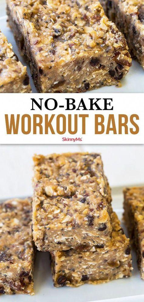 Protein Muffins, No Bake Protein Bars, Healthy Protein Bars, Protein Bar Recipes, Protein Powder Recipes, Peanut Butter Protein, High Protein Snacks, Protein Foods, Healthy Dessert Recipes