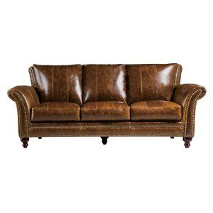 1669 2239 03 5507 So Classic Traditional Brown Leather Sofa Butler Brown Leather Sofa Quality Living Room Furniture Living Room Decor Traditional