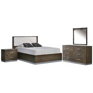 Levi Chambre A Coucher 5 Mcx Grand Poivre Furniture Bedroom Bed
