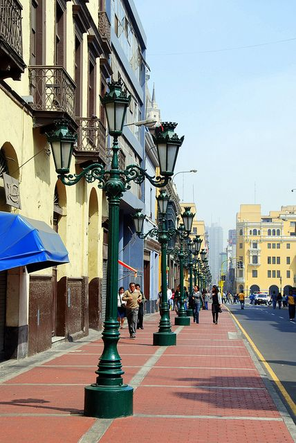 Lima, Peru--been there. Way cool but 10 mil is a lot of people/traffic to negotiate!