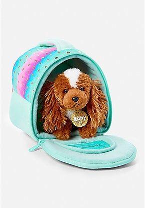 Pet Shop Ombre Foil Dot Pet Carrier Birthday Toys Christmas