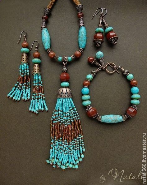 Breathtaking Turquoise Jewelry For a beautiful Bohemian style. - - Breathtaking Turquoise Jewelry For a beautiful Bohemian style. Boho – Artisan jewelry – boho chic Style Boho chic artisan turquoise jewelry , hand made bohemian earrings and necklaces Turquoise Jewelry, Boho Jewelry, Jewelry Art, Beaded Jewelry, Jewelery, Vintage Jewelry, Jewelry Necklaces, Fashion Jewelry, Beaded Bracelets