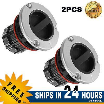 2 PCS Front Manual Locking Hub BC3Z3B396B for Ford Super Duty F250 F350 05-16