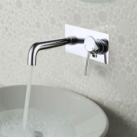 Badarmatur Unterputz Wasserhahn Waschtisch Armatur Wandmontage F Bad Messing Armaturen Bad Wasserhahn Badarmaturen