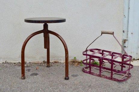 Tabouret D Atelier Mario L Atelier Belle Lurette Renovation De Meubles Vintage Tabouret Meuble Vintage Mobilier De Salon
