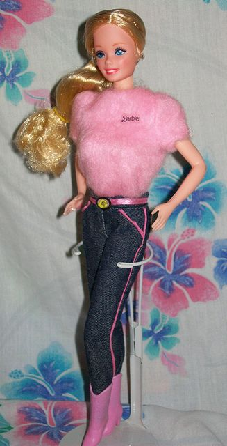 1981 Fashion Jeans Barbie