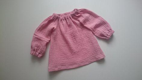 Tunika Musselin Bluse Baby Kind Musselintunika Babytunika Kindertunika Altrosa Mit Bildern Musselin Baby Hemd Tunika