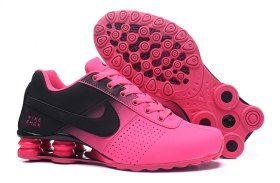 Nike Shox Deliver Black Baby Pink