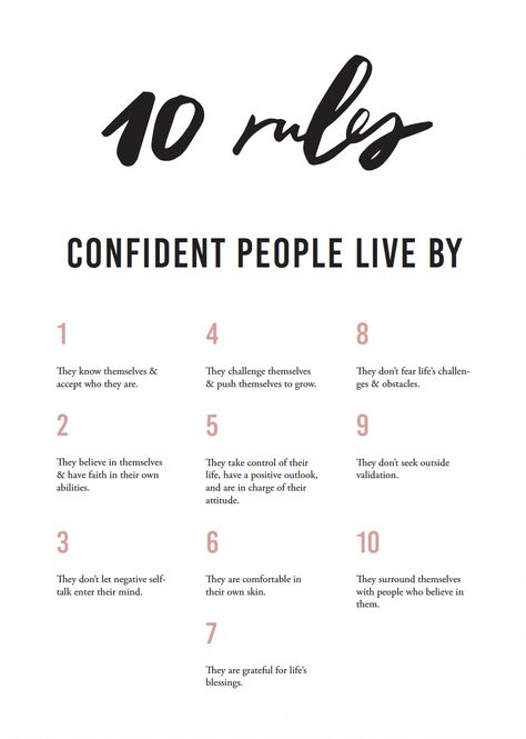 If you're trying to work on your self-confidence, let's consider What Being Confident Shows About You. This should offer you the confidence required to try.