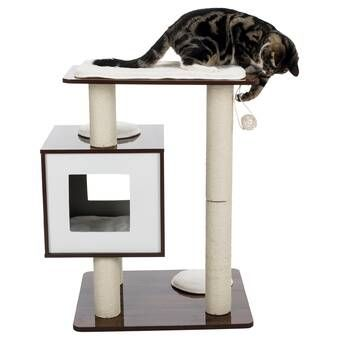 62 Mittens Cat Tree Cat Cube Pet Furniture Cat Condo