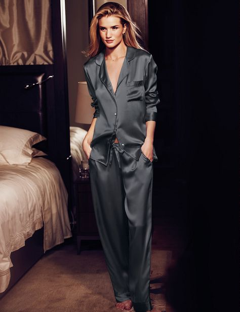 Rosie for Autograph Pure Silk Revere Pyjamas - Marks & Spencer