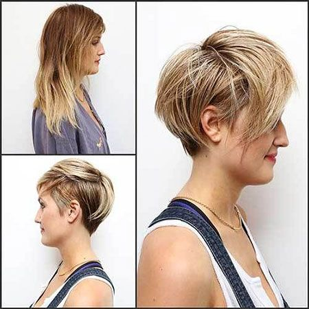 20 Kurze Sommerhaarschnitte Haarschnitt Kurz Frisuren Und Frisuren Rundes Gesicht