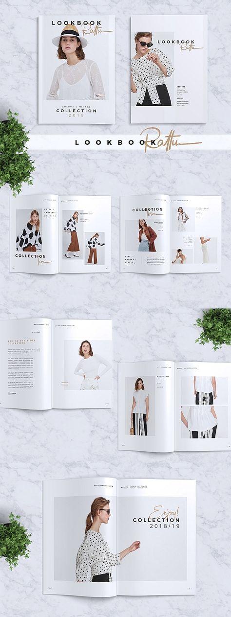 RATTU Lookbook + Premium Font