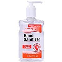 Assured Hand Sanitizer One 8 Oz Bottle Packaging May Vary In