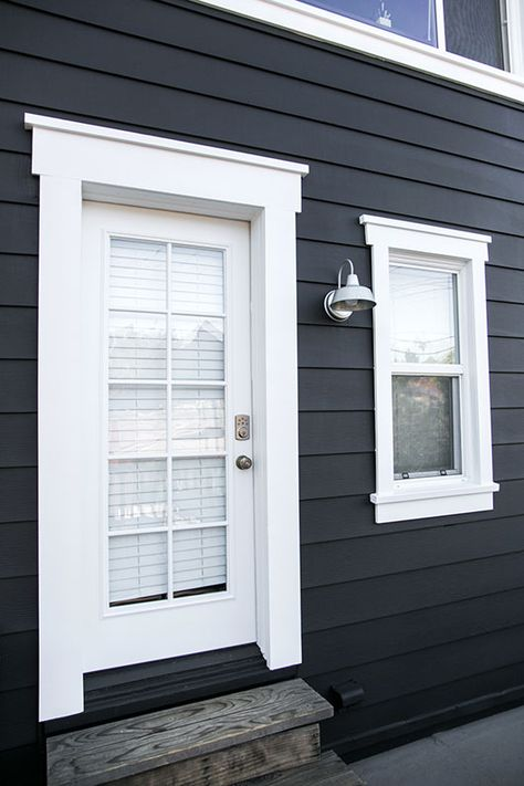 Simple Exterior Window Trim Anyone Can Do | Window, Easy and Curb ...