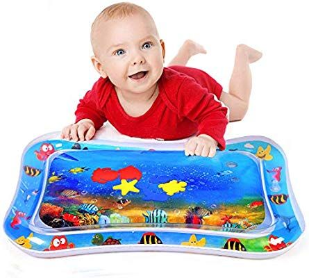 Inflatable Water Play Mat For Infants Toddlers Fun Tummy Time Play Activity Baby Playmats Leakproof Bpa Free Water Mat Toy For Baby Water Pad Water Mat Kids Swimming