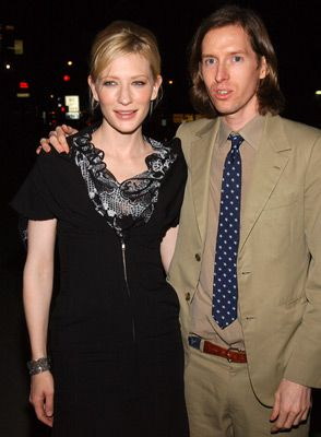 Cate Blanchett And Wes Anderson At An Event For The Life Aquatic With Steve Zissou 2004 Cate Blanchett Wes Anderson Steve Zissou