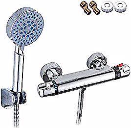Tropical 浴室用水栓 シャワー付き シャワーヘッド セット