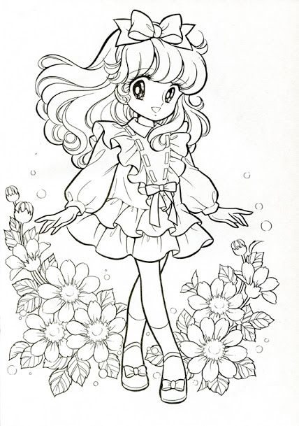 Pin by jennifer zorbaugh on vintage anime coloring page pinterest coloring books adult coloring and alcohol markers