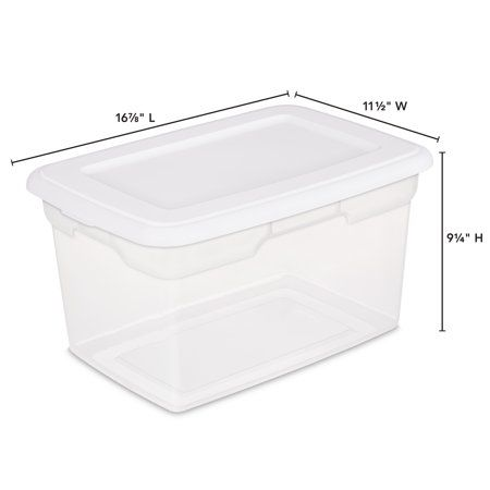 Home Storage Plastic Box Storage Small Space Solutions