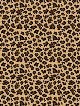 Freebie Leopard Print Digital Paper Clipart By Educando Einsteins Digital Paper Print Clip Art
