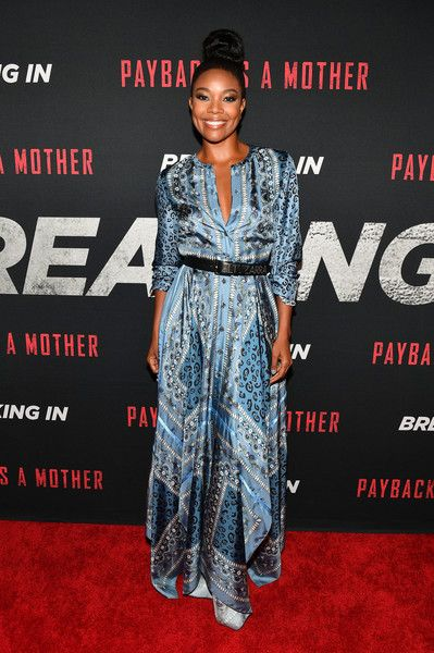 Actress Gabrielle Union attends the 'Breaking In' Atlanta Private Screening.
