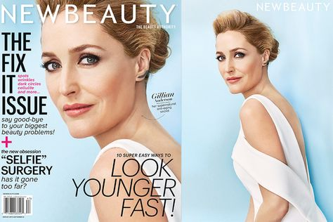 Gillian Anderson S Beauty Secrets