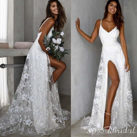Chamring Most Popular Spaghetti Straps Modest Prom Dresses, Simple Fashion Wedding Dresses, PD1398