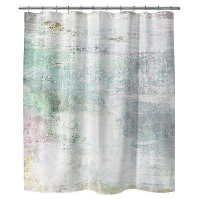Mercer41 Mathias Abstract Single Shower Curtain Size 72 H X 70