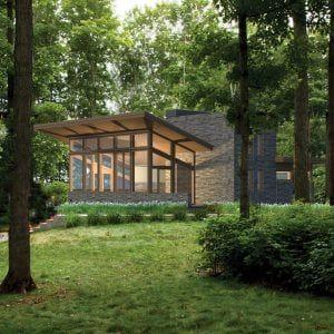 Usonian House Plans Inspired By Architect Frank Lloyd Wright Usonian House Lindal Cedar Homes Cedar Homes