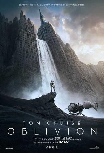 Bon Film De Science Fiction : science, fiction, Poster:, Oblivion, Cruise,, Morgan, Freeman,, Andera, Riseborough), Movie,, Movies,, Films