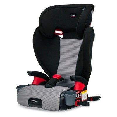 Britax Dual Comfort Midpoint Booster Car Seat Black Gray Car