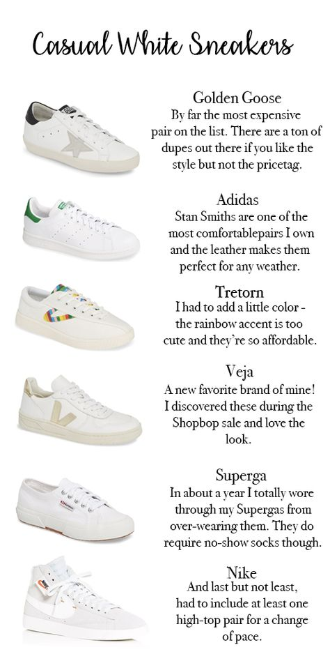 The Best Casual Sneakers Fashion Fernweh Casual White Sneakers Sneakers White Sneakers Women