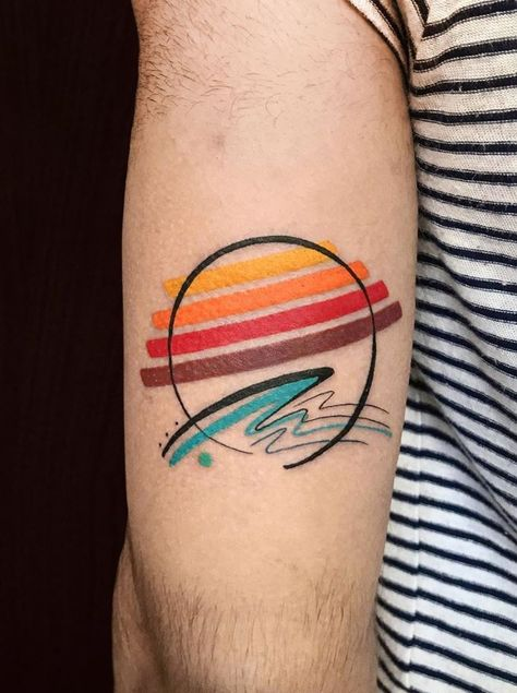 100 Best Abstract Tattoos Of All Time - Link A Daily