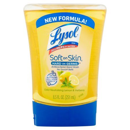 How To Refill Lysol No Touch Systems Homemade Cleaning Supplies