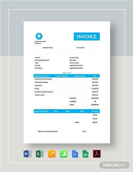 Pin On Invoice