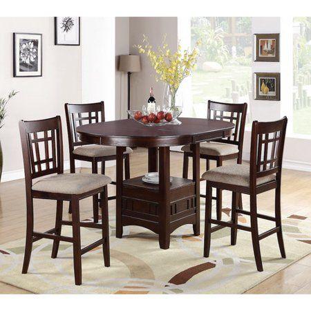 565 Winston Porter Paislee 5 Piece Counter Height Dining Set