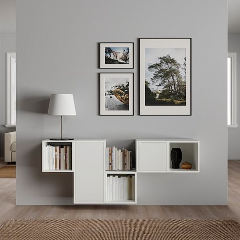 IKEA - EKET Wall-mounted cabinet combination, White