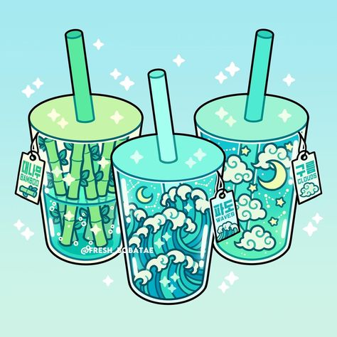 redraw os magic drinks by fresh_bobatae
