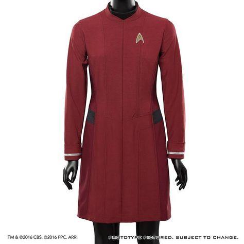 Star Trek Beyond Starfleet Uniform Dress Standard Line
