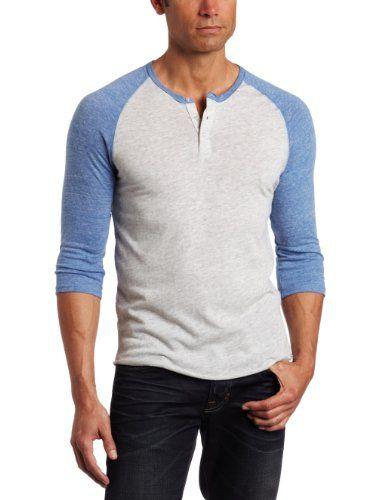 3/4 henley shirt