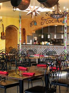 rustic american style mexican restaurant design 6 restaurante