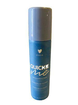 Design Me Quickie Me Dry Shampoo Foam 2oz Travel Size 842879000800 Ebay Travel Size Products Dry Shampoo Foam