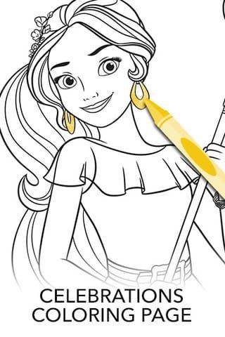 Elena Of Avalor Disney Lol Superhero Coloring Pages Disney Princess Colors Disney Princess Elena